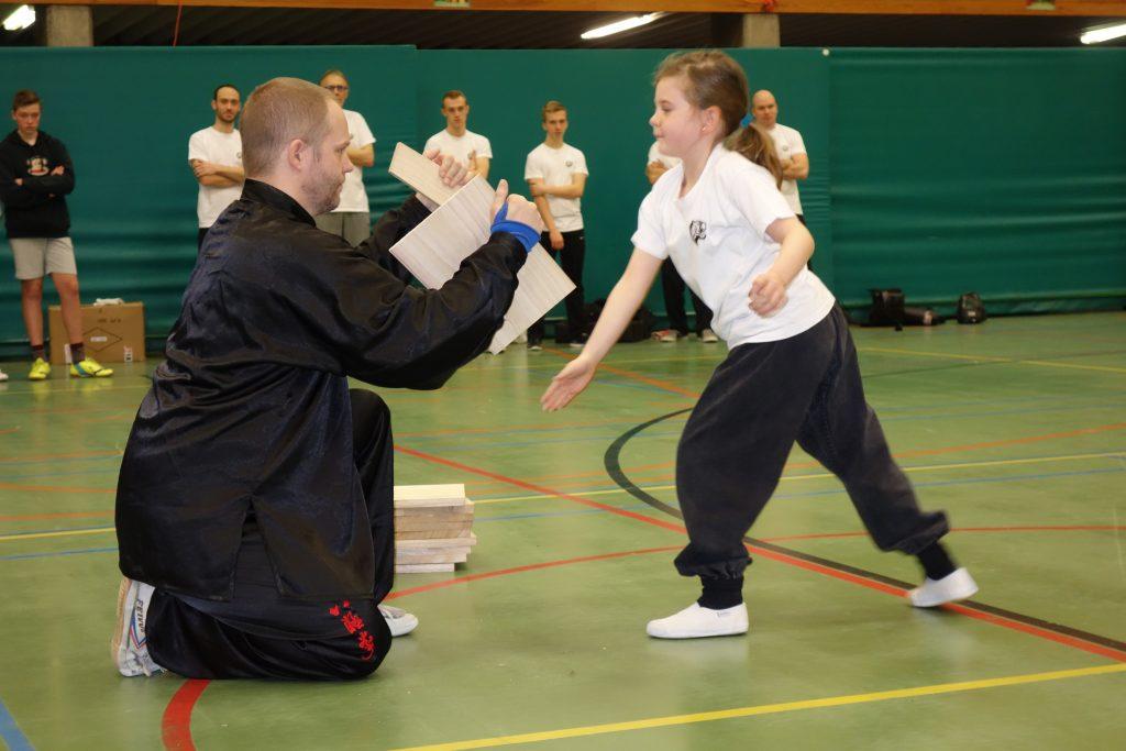 Kinderen en Kung Fu